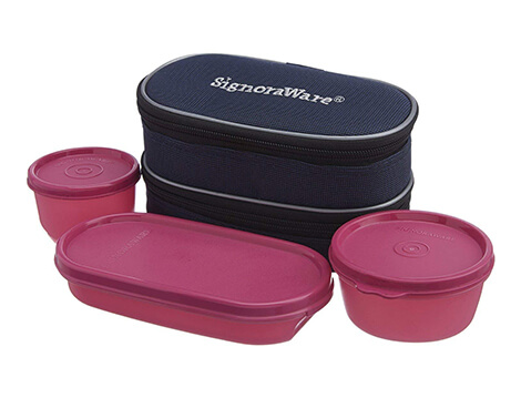 Signoraware double decker lunch box