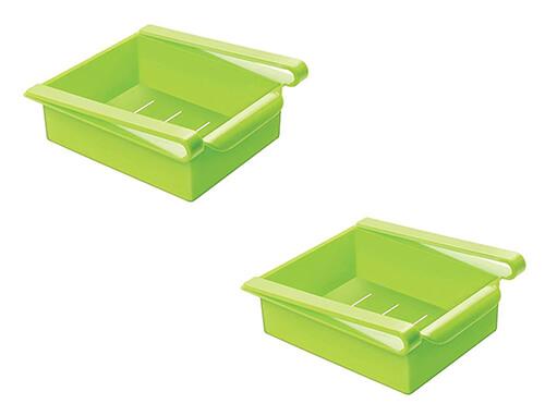 Fridge Storage Organizers - Set of 2