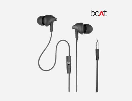 BoAt BassHeads In-Ear Headphones wit Mic