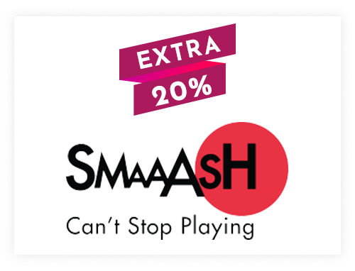 Smaaash Instant Gift Voucher Rs. 500