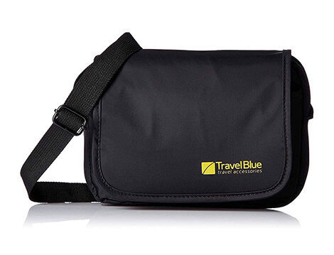 Travel Blue City Pouch