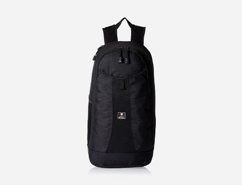 Swiss Military Black Casual Backpack