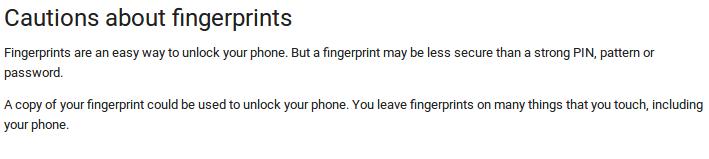 google-caution-fingerprint