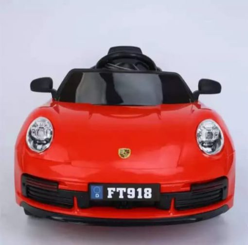 Battery Operated Ride-On Car with Remote for Kids   Model No.Porsche 718