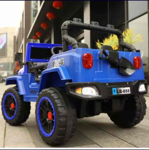 Kids Battery Operated Ride On Jeep