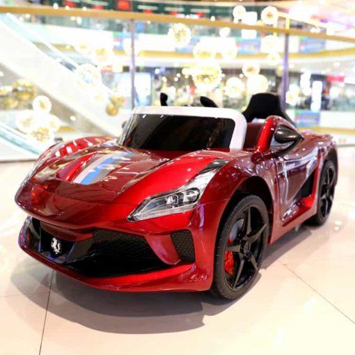 Ferrari Ride-On Car, Red