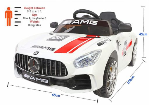 AMG Remote car for kids-Ridertoys