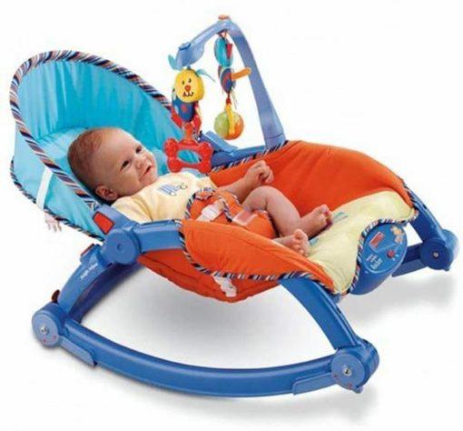 Newborn to Toddler Portable Baby Rocker-Ridertoys