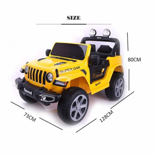 Rechargeable Battery Operated Electric Ride-On Jeep car for Kids Baby