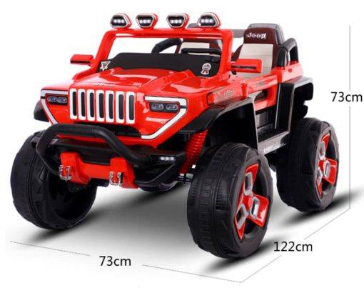 2 Seater electric jeep for kids