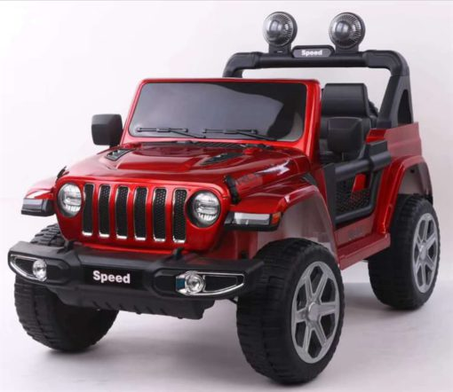Electric Ride-On Jeep Ridertoys