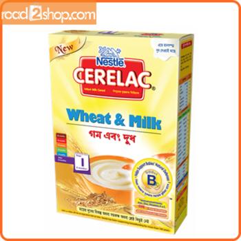 Nestle Cerelac 1 (6 months +) Wheat & Milk