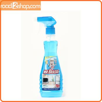 Mr. Brasso Spray Glass Cleaner 350ml