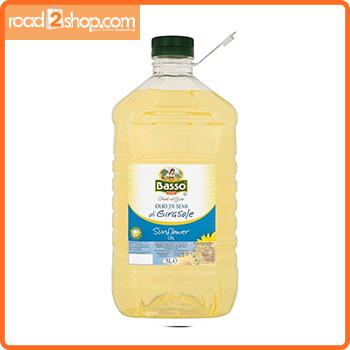 Basso Sunflower Oil 5ltr