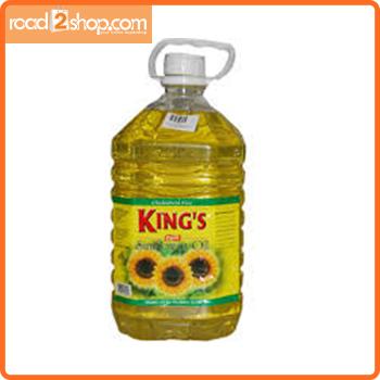 King's Sunflower Oil Pet 5ltr