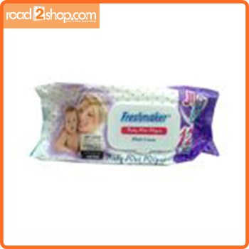 Freshmaker 120pcs Wet Wipes With Lotion