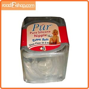 Pur Baby Nipple S (0-3) months 1pcs