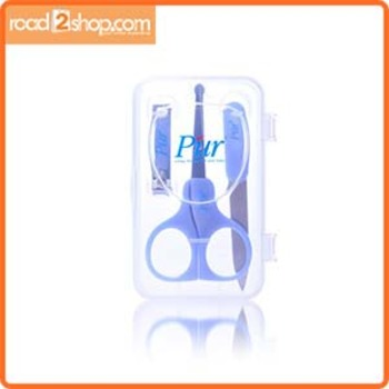 Pur Baby Manicure Set Blue 1pack