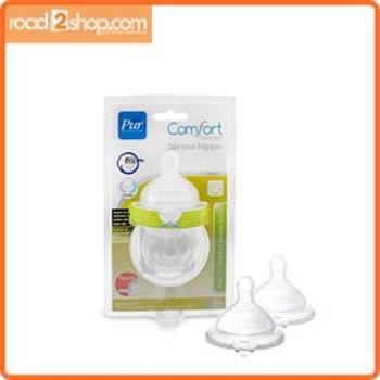 Pur Baby Comfort Feeder Silicon Nipple L 2pcs