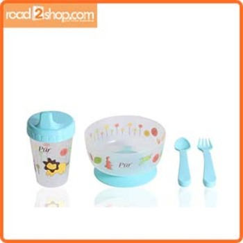 Pur Baby 4 In 1 Weaning Set 1 Green Combo