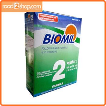 Biomil 2 Milk Powder (6-12)Months 350gm