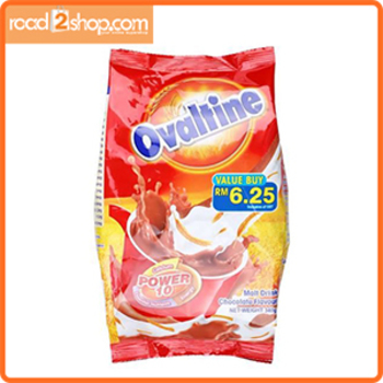 Ovaltine Power 10 malted Milk Poly 340gm