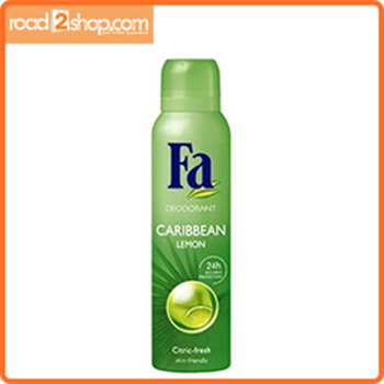 Fa 200ml Woman Caribbean Lemon Spray