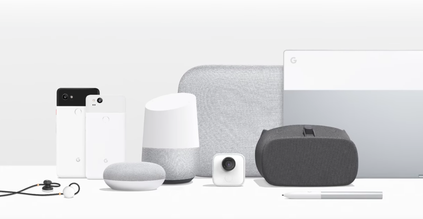 New Google products at Pixel 2 Event