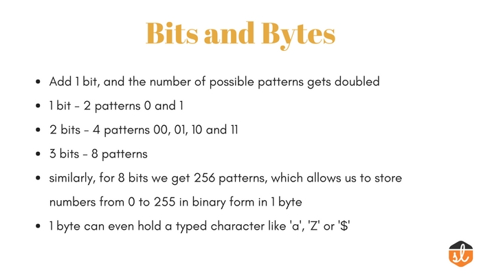 What is a bit and byte