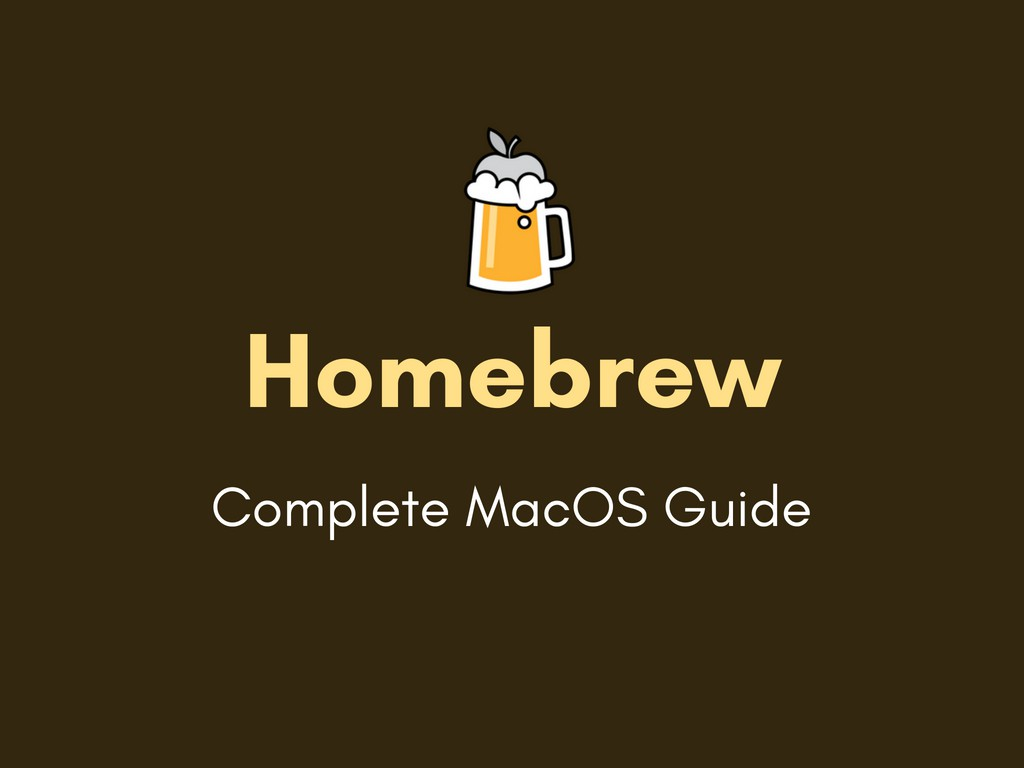 What is Homebrew and How to Install it on Mac OSX - Studytonight