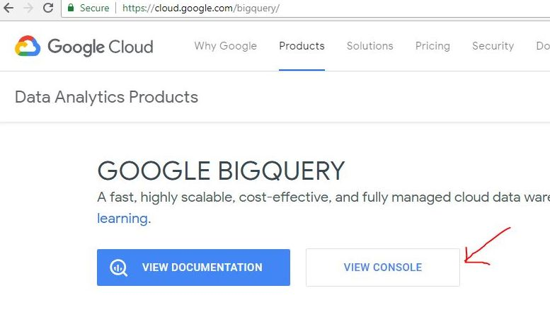 google bigquery getting started guide