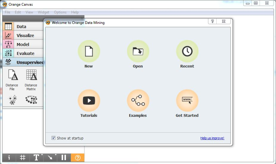 Installing add-on in orange tool for data visualization and data mining