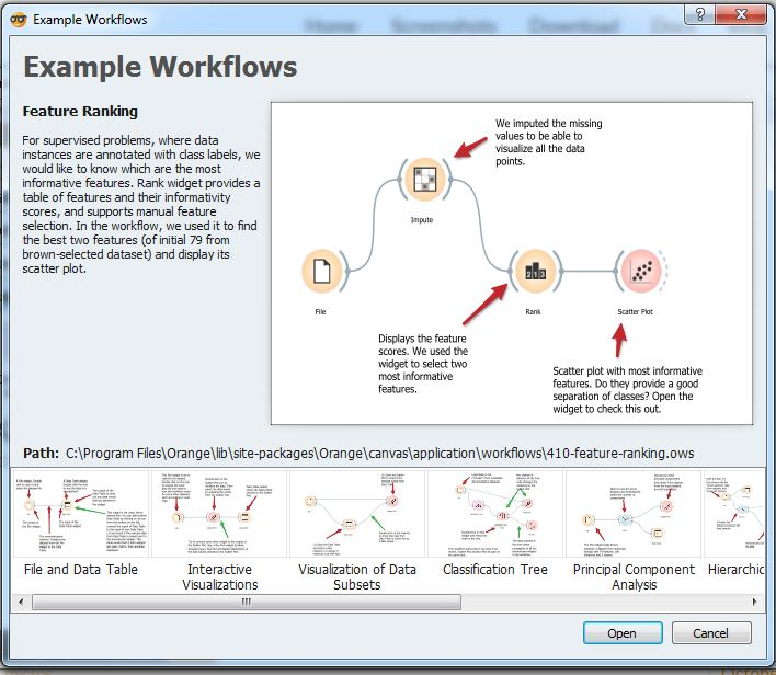 Orange tool official documentation and tutorials