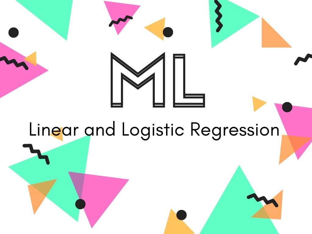 linear and logistic regression code example python