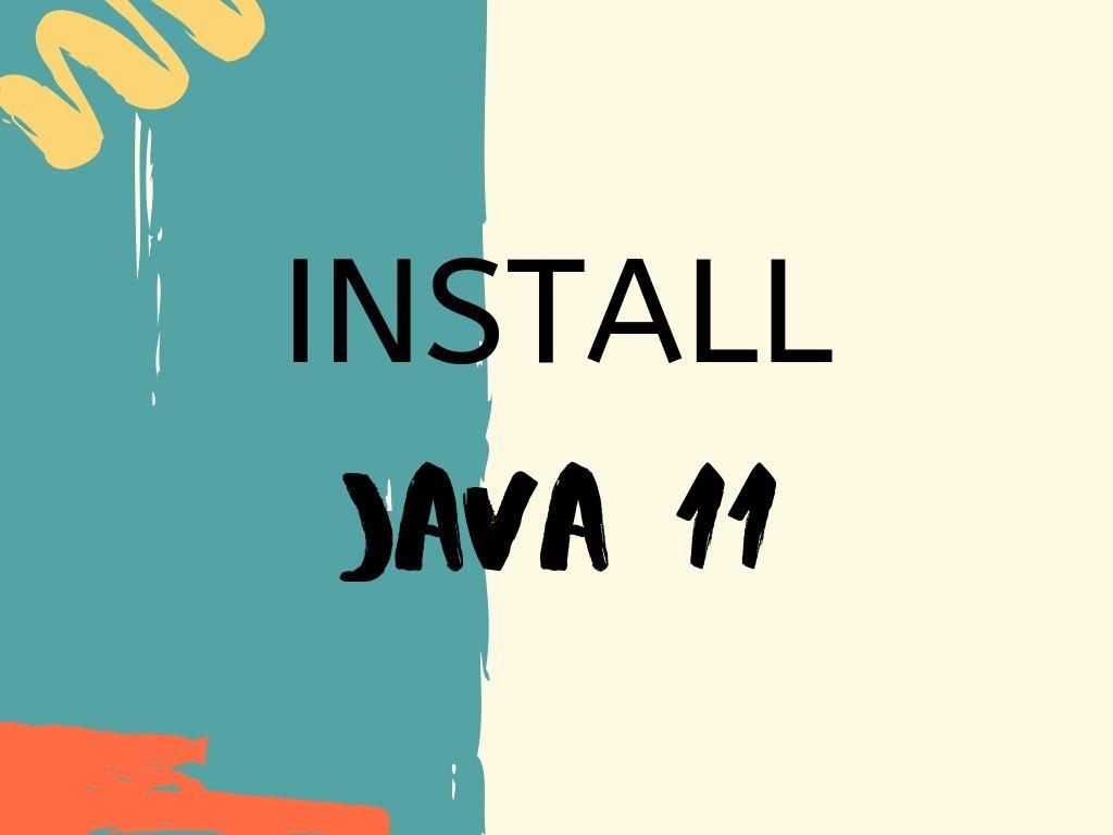 install jdk 11 on windows