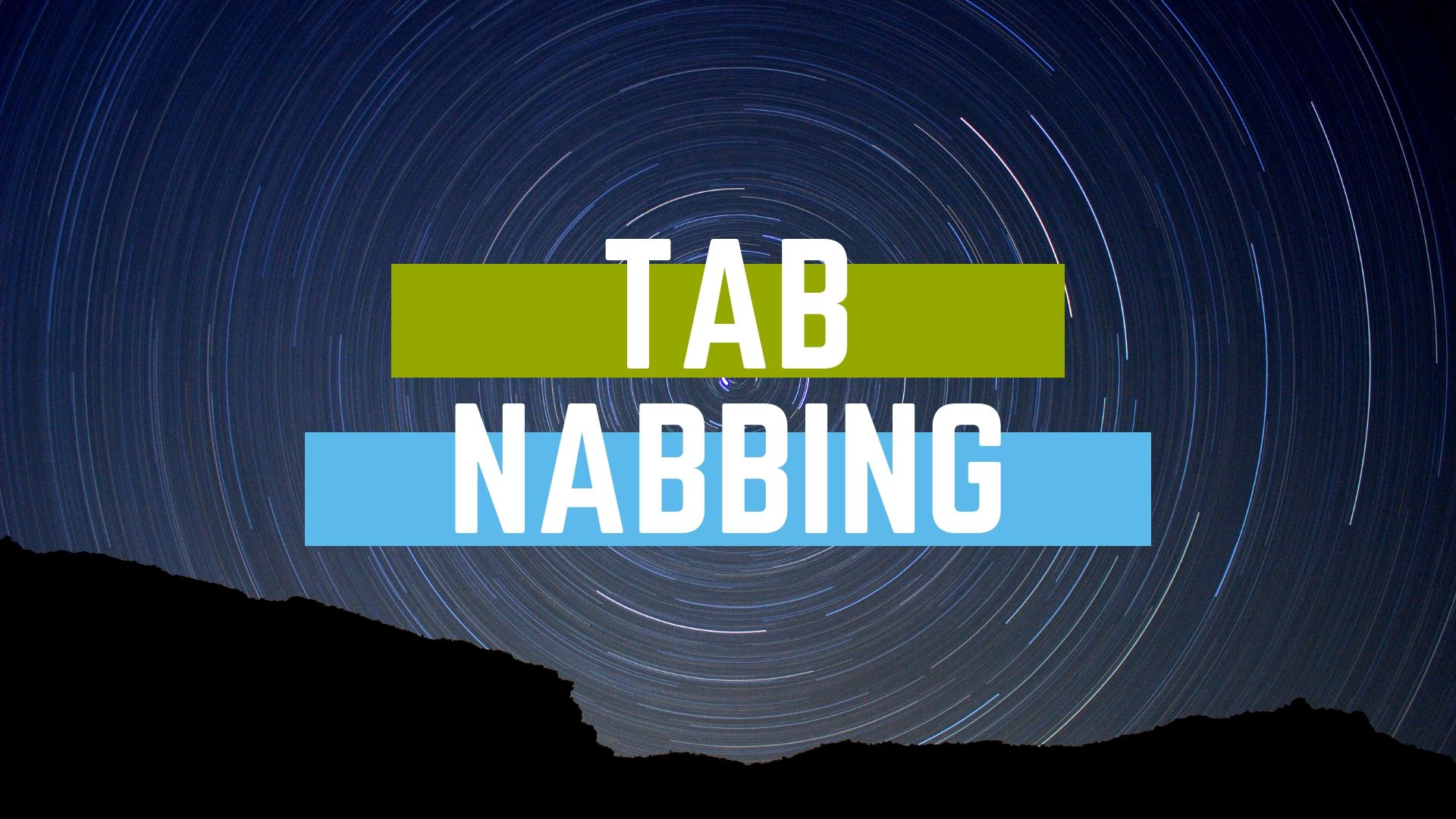 Tab nabbing hacking technique