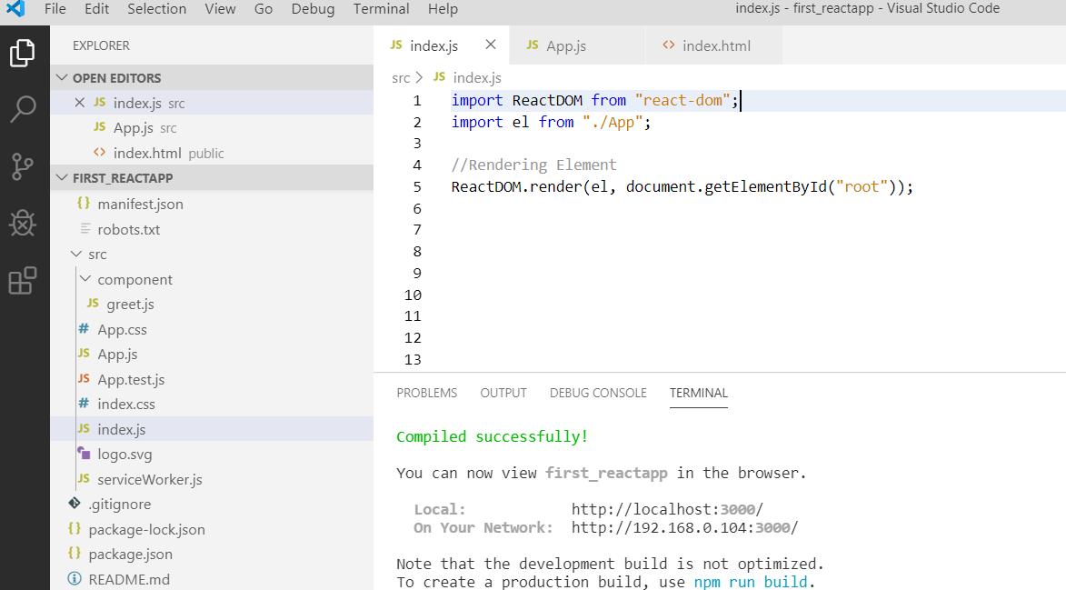 Using JSX in ReactJS