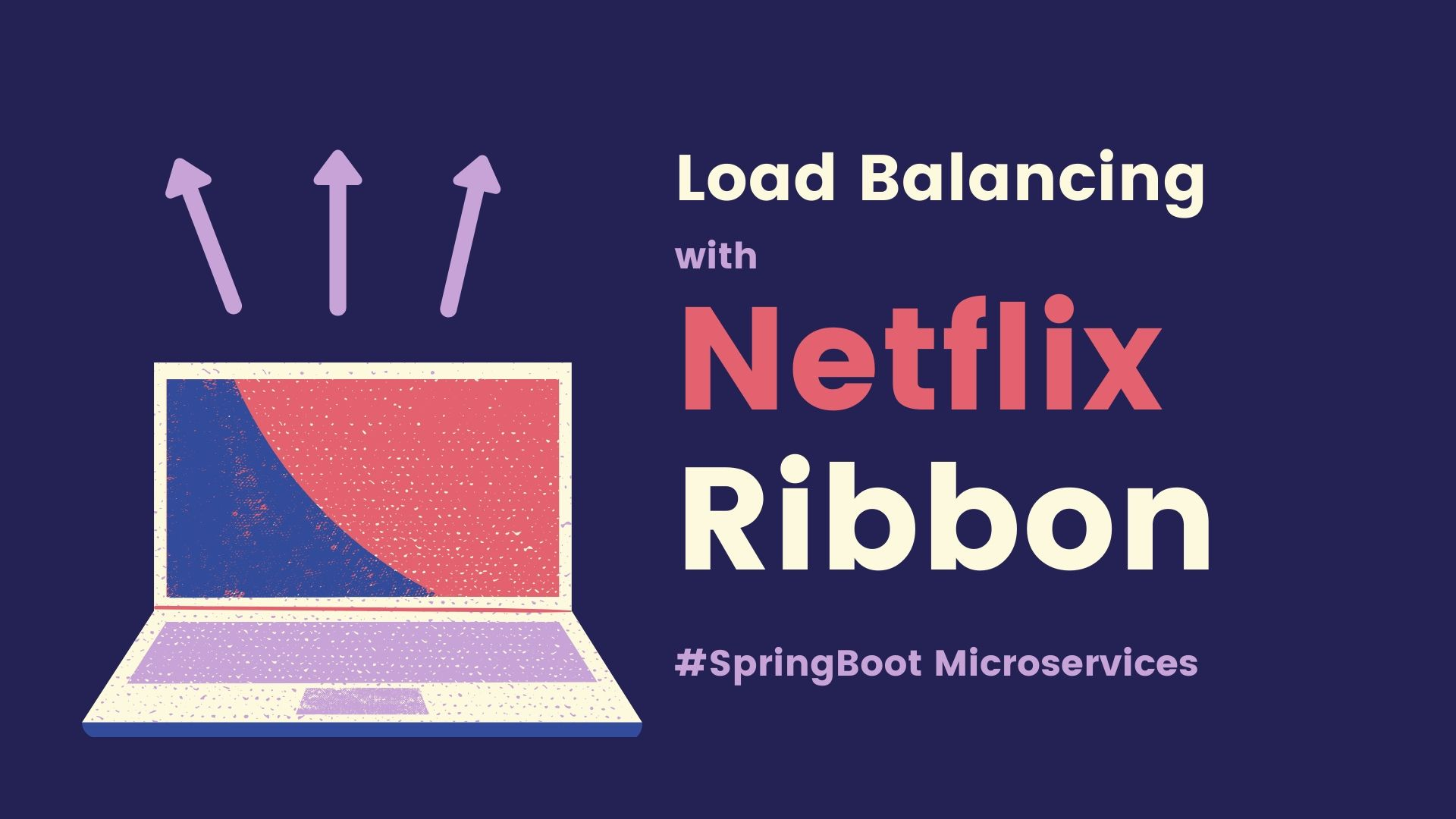 Load balancing microservices using netflix ribbon