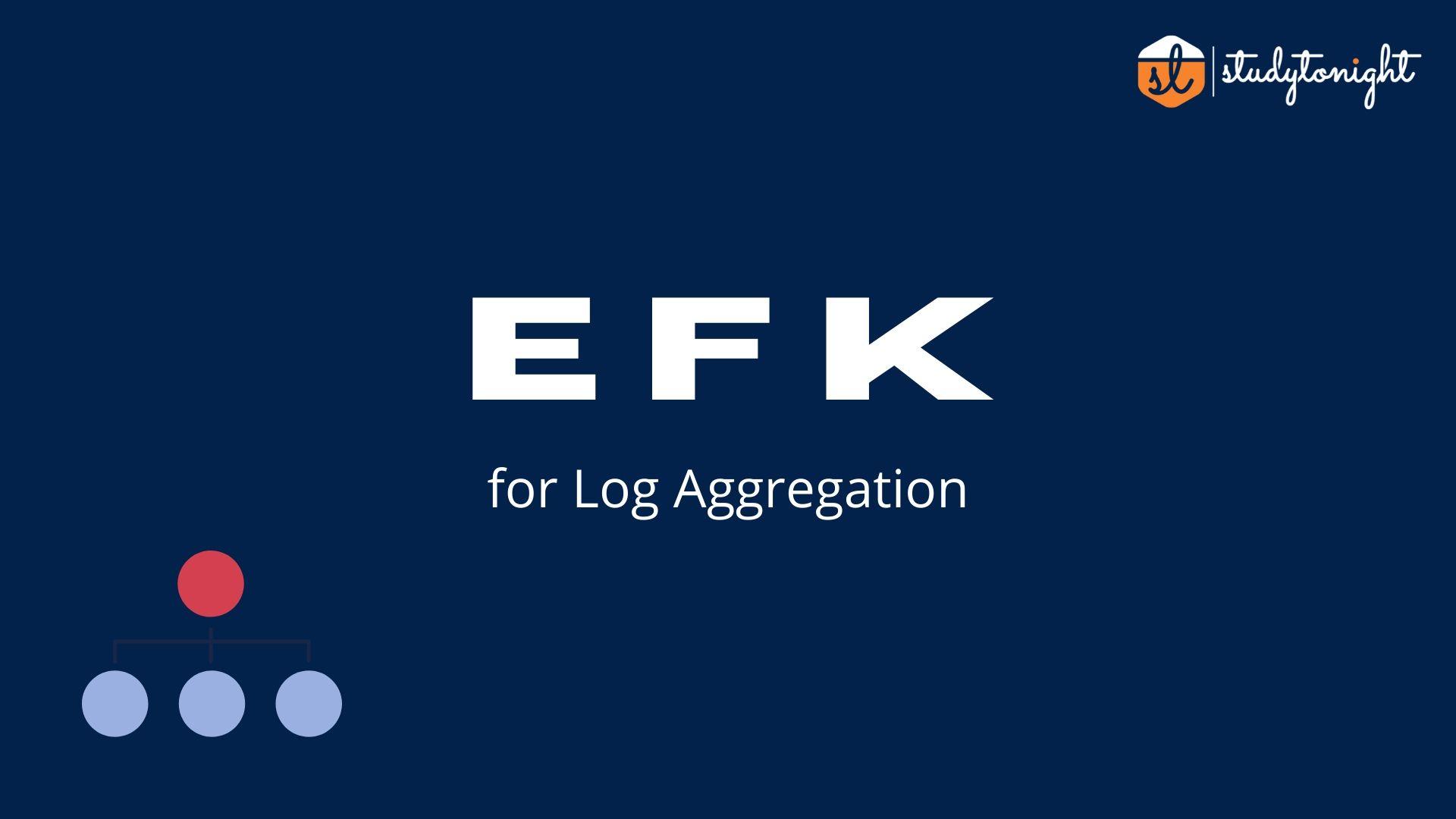 EFK setup for log aggregation