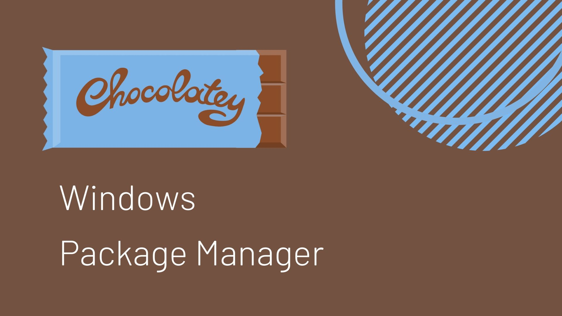 Install Chcolatey Windows Package Manager