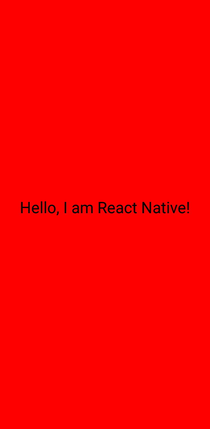props in react native
