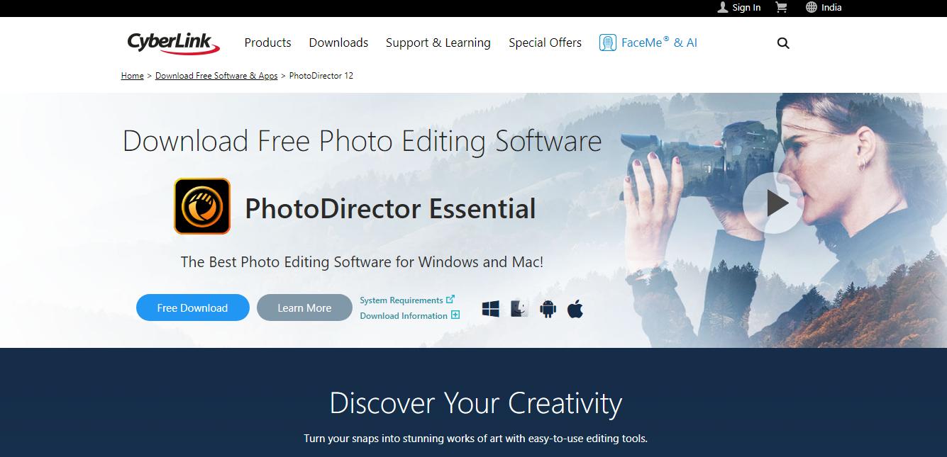 photodirector 10 essential
