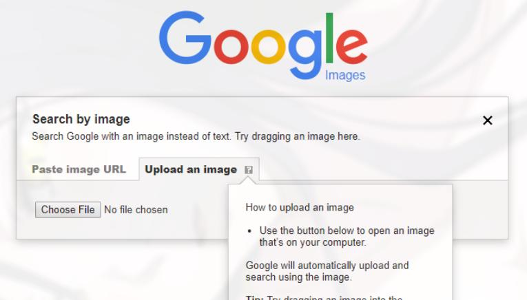 Google chrome reverse search engine
