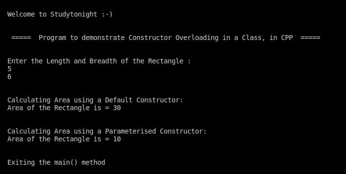 C++ constructor overloading