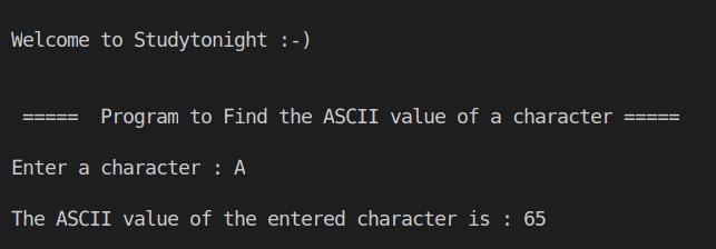 C++ ascii
