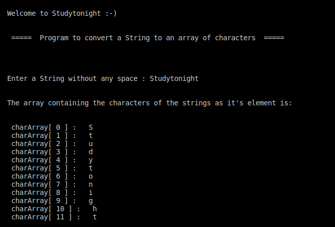 C++ string to char array