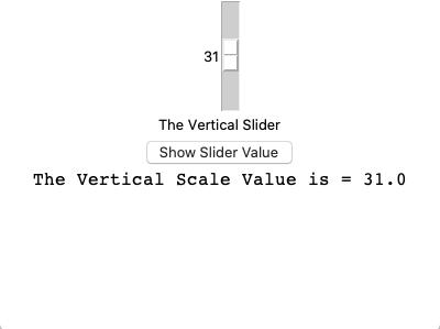 Tkinter vertical scale widget slider example