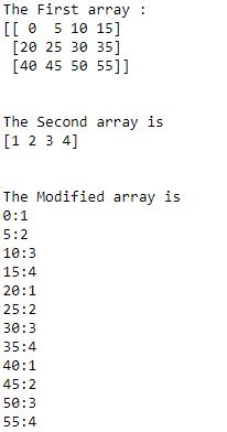 numpy ndarray broadcasting iteration example