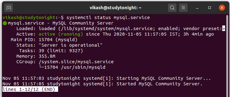 mysql-installation