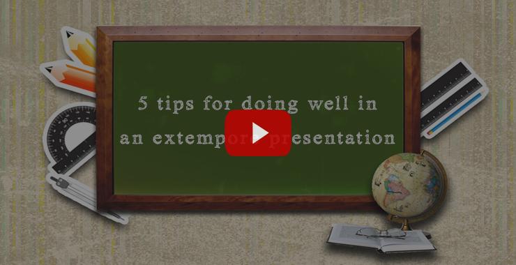 Extempore Tips | Tips for Extempore | Extempore Examples